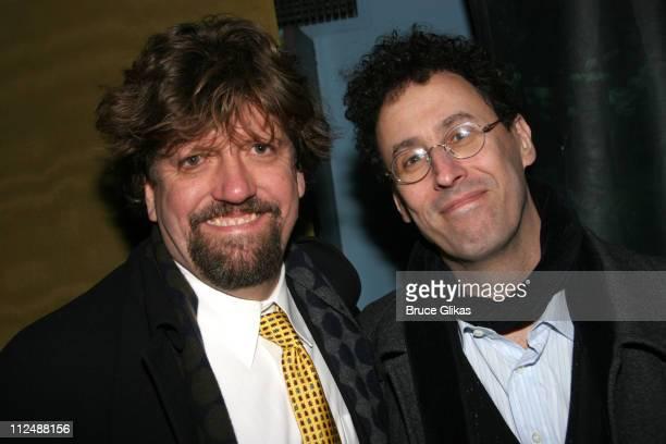 Oskar Eustis NY Public Theater Artistic Director and Tony Kushner