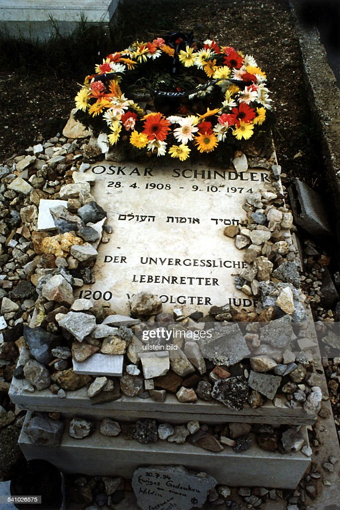 Schindler, Oskar /1 : News Photo