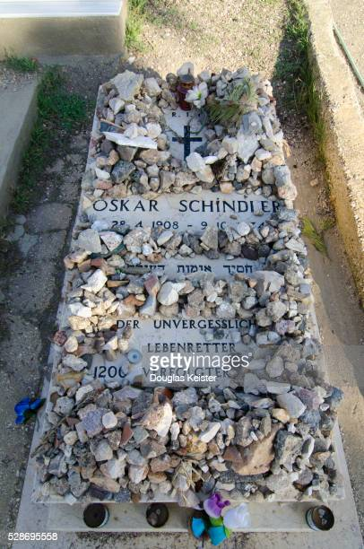 oskar schindler's grave - oskar schindler stock pictures, royalty-free photos & images