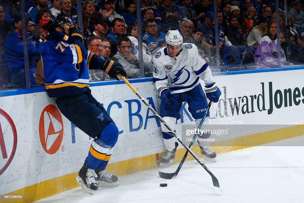 Tampa Bay Lightning v St Louis Blues