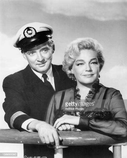 a letter to my love signoret signoret stock photos and pictures getty images 27096 | oskar werner and simone signoret pose on ship deck in a scene from picture id138690092?s=612x612