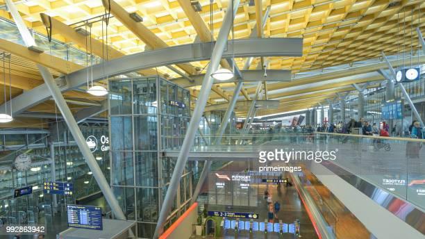 オスロのオスロ国際空港。