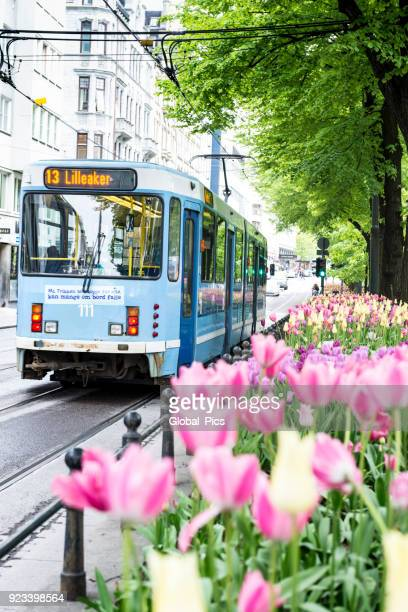 oslo - norway - cable car stock pictures, royalty-free photos & images