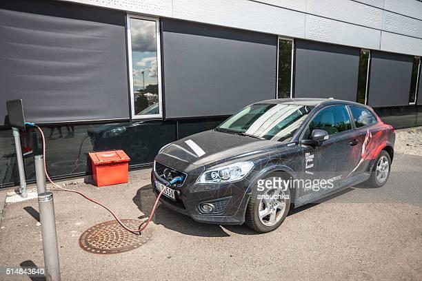 Oslo Opera House Electro Car charging