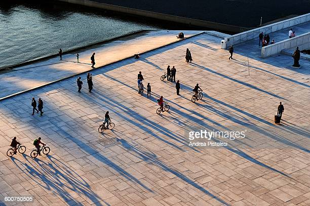 oslo opera house, norway - oslo stock pictures, royalty-free photos & images