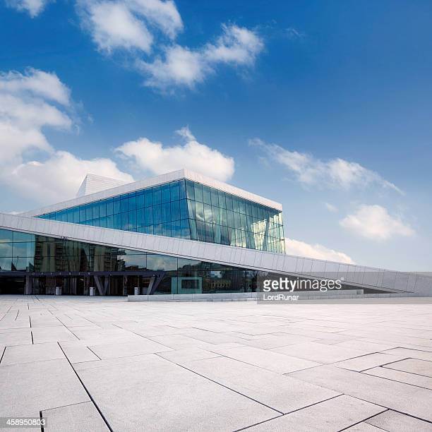 oslo opera house - opera stock pictures, royalty-free photos & images