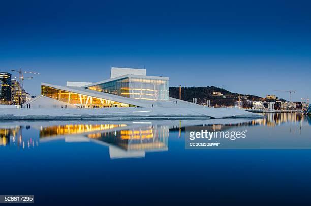 oslo opera house - teatro de ópera - fotografias e filmes do acervo