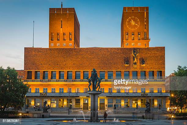 Oslo Radhus City Hall location of Nobel Peace Prize Norway