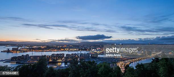 Oslo skyline, Norway.