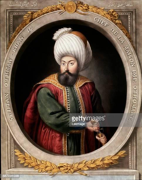 Osman I or Othman I or Osman Gaz Topkapi Sarayi Museum Library Istanbul Turkey