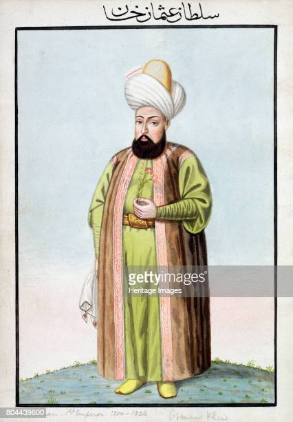 Osman I Ottoman Emperor Osman founded the Ottoman Empire in 1299 From A Series of Portraits of the Emperors of Turkey 1808 Artist John Young