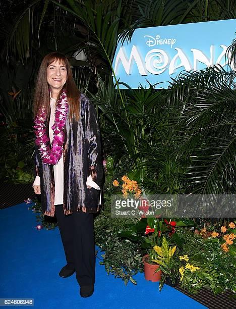 Osnat Shurer attends the UK Gala screening of Disney's 'MOANA' at BAFTA on November 20 2016 in London England