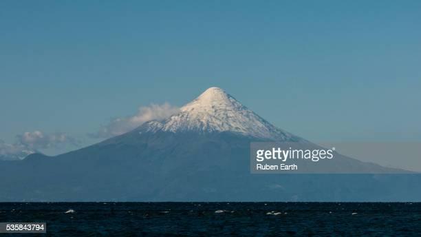 Osorno Volcano close up view