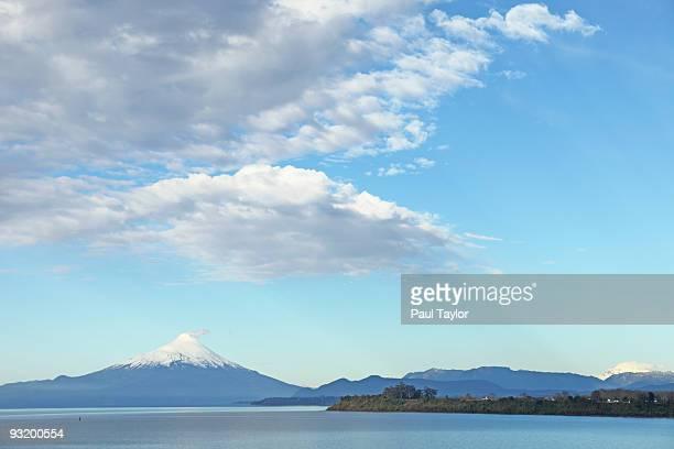 Osorno volcano over Lake Llanquihue
