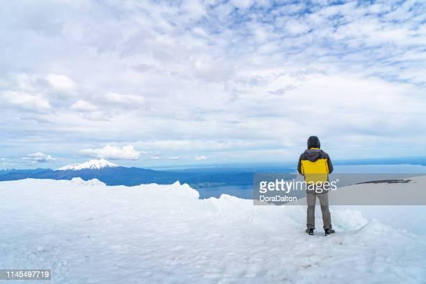 Osorno Volcano view in Chilean Lake District - Puerto Varas, Chile