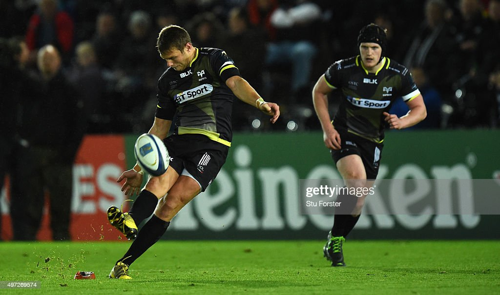 Ospreys v Exeter Chiefs - European Rugby Champions Cup : News Photo