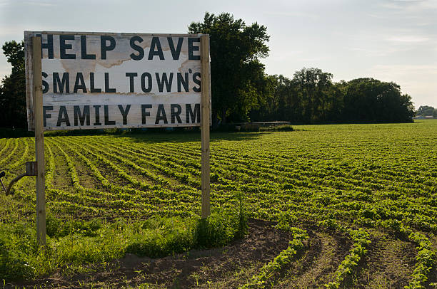 Residents put up signs to try to save this small community