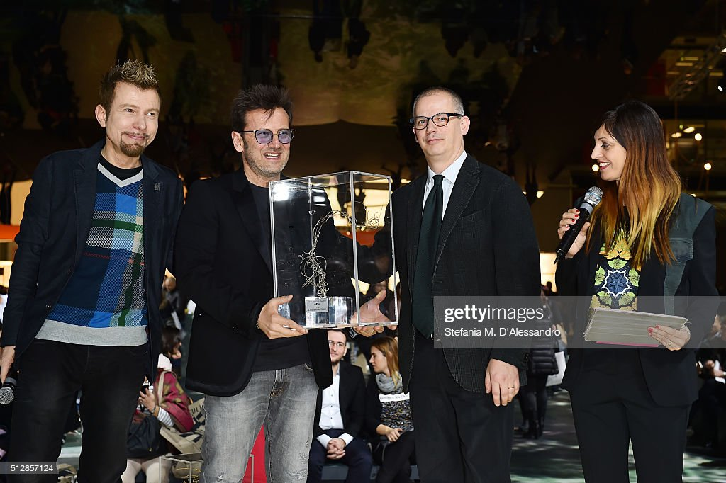 L Osservatorio receives the 2nd prize of the Bestore Award at MIDO 2016, the Milano Eyewear Show, during Milan Fashion Week FW16 on February 28, 2016 in Milan, Italy.
