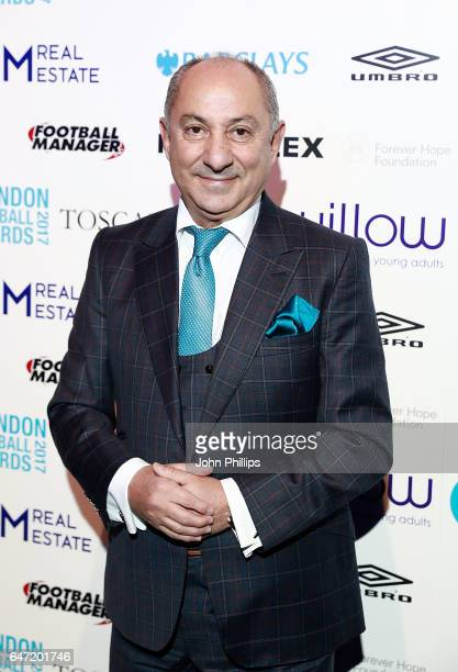 Ossie Ardiles attends the London Football Awards on March 2 2017 in London United Kingdom