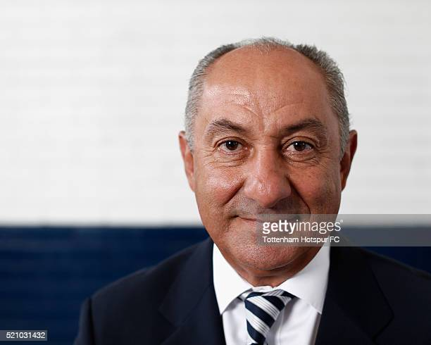 Ossie Ardiles poses at White Hart Lane on August 29 2015 in London England