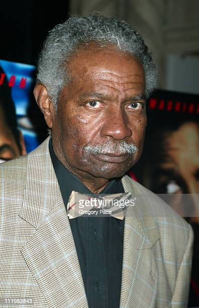 Ossie Davis during Out of Time New York Premiere at Loews Theater Lincoln Square in New York City New York United States