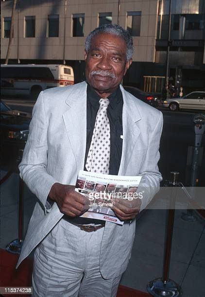 Ossie Davis during Showtime's '12 Angry Men' Premiere Beverly Hills at Samuel Goldwyn Theater in Beverly Hills CA United States