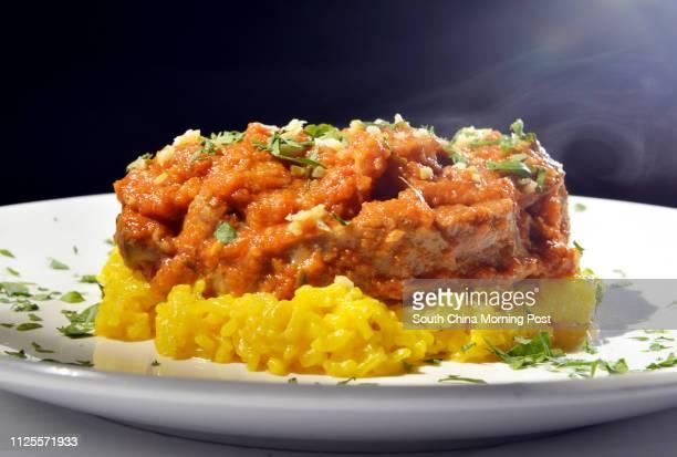 OssoBuco Di Vitello Con Risotto Alla Milanese of La Taverna in Tsim Sha Tsui. 09AUG13[10OCT2013 48HRs FOOD 25+]