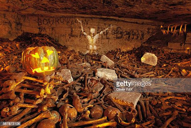 Ossuary in honor of Halloween night