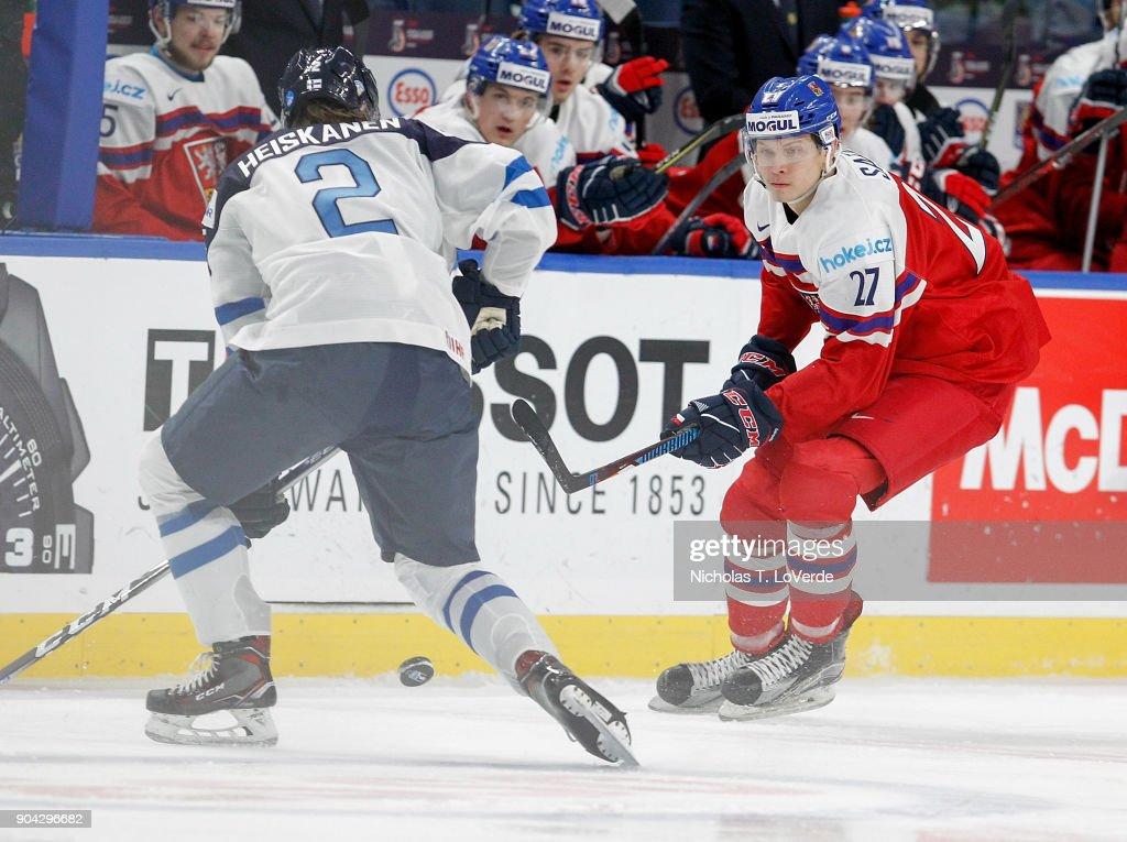 Czech Republic v Finland: Quarterfinal - 2018 IIHF World Junior Championship