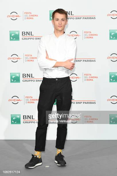 Ostap Vakulyuk attends the Ether photocall during the 13th Rome Film Fest at Auditorium Parco Della Musica on October 19 2018 in Rome Italy