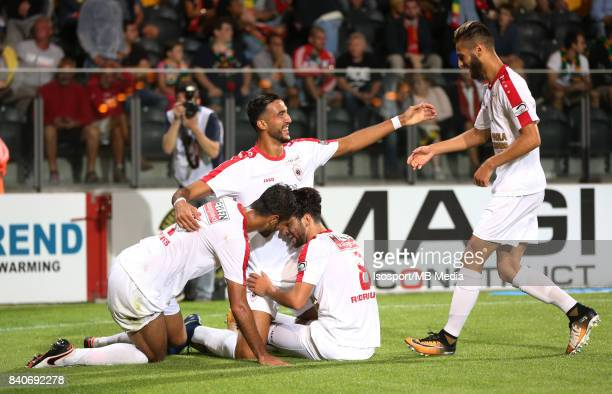 20170827 Ostend Belgium / Kv Oostende v Antwerp Fc / 'nIvo RODRIGUES Celebration'nFootball Jupiler Pro League 2017 2018 Matchday 5 / 'nPicture by...