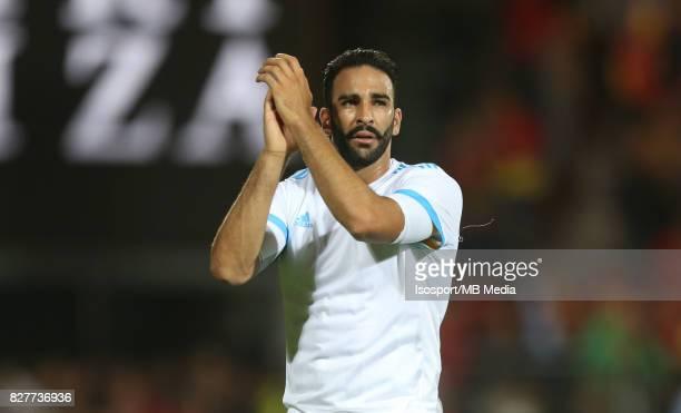 Kv Oostende v Olympique de Marseille / 'nAdil RAMI Celebration'nFootball Uefa Europa League 2017 2018 Third Qualifying round second leg / 'nPicture...
