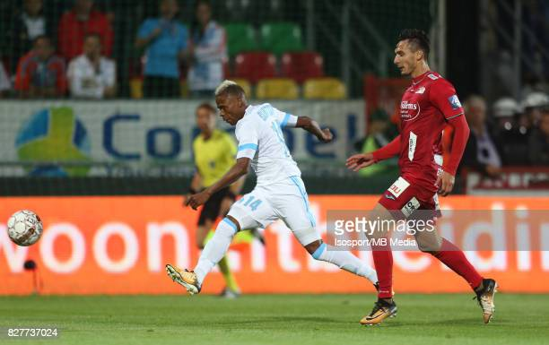 Kv Oostende v Olympique de Marseille / 'nClinton NJIE Zarko TOMASEVIC'nFootball Uefa Europa League 2017 2018 Third Qualifying round second leg /...