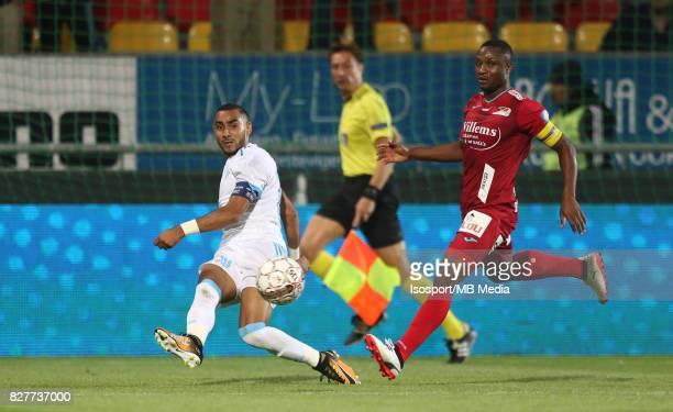 Kv Oostende v Olympique de Marseille / 'nDimitri PAYET Sebastien SIANI'nFootball Uefa Europa League 2017 2018 Third Qualifying round second leg /...