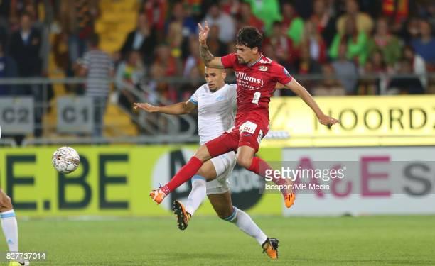Kv Oostende v Olympique de Marseille / 'nDORIA Fernando CANESIN'nFootball Uefa Europa League 2017 2018 Third Qualifying round second leg / 'nPicture...