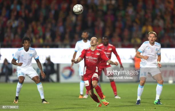 Kv Oostende v Olympique de Marseille / 'nFranck BERRIER'nFootball Uefa Europa League 2017 2018 Third Qualifying round second leg / 'nPicture Vincent...