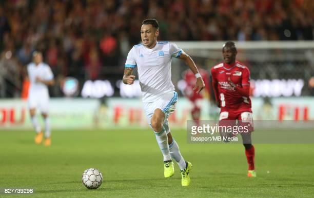 Kv Oostende v Olympique de Marseille / 'nLucas OCAMPOS'nFootball Uefa Europa League 2017 2018 Third Qualifying round second leg / 'nPicture Vincent...