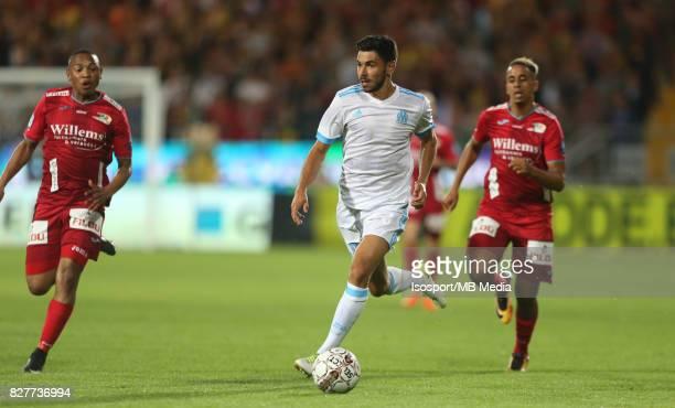 Kv Oostende v Olympique de Marseille / 'nMorgan SANSON'nFootball Uefa Europa League 2017 2018 Third Qualifying round second leg / 'nPicture Vincent...