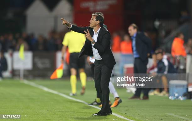Kv Oostende v Olympique de Marseille / 'nRudi GARCIA'nFootball Uefa Europa League 2017 2018 Third Qualifying round second leg / 'nPicture Vincent Van...