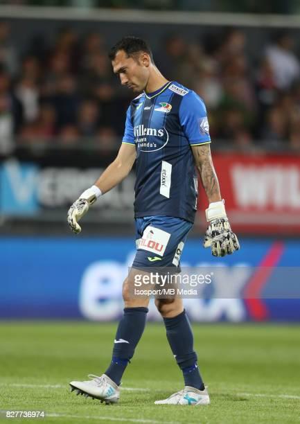 Kv Oostende v Olympique de Marseille / 'nSilvio PROTO Deception'nFootball Uefa Europa League 2017 2018 Third Qualifying round second leg / 'nPicture...