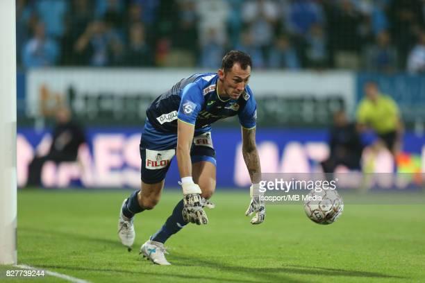 Kv Oostende v Olympique de Marseille / 'nSilvio PROTO'nFootball Uefa Europa League 2017 2018 Third Qualifying round second leg / 'nPicture Vincent...