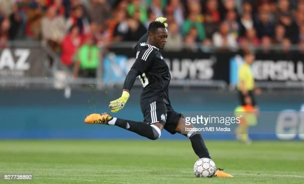 Kv Oostende v Olympique de Marseille / 'nSteve MANDANDA'nFootball Uefa Europa League 2017 2018 Third Qualifying round second leg / 'nPicture Vincent...