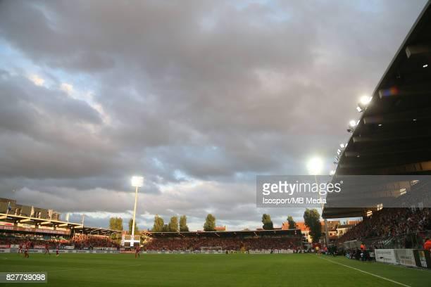 "Ostend, Belgium / Uefa EL : Kv Oostende v Olympique de Marseille / ""nVersluys arena""nFootball Uefa Europa League 2017 - 2018 Third Qualifying round..."