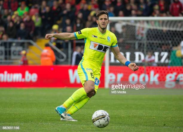 Ostend / KV Oostende vs KAA Gent Rami GERSHON Football Jupiler Pro League 2016 2017 PO 1 matchday 7 / Oostende Versluys Arena pict by FRANK