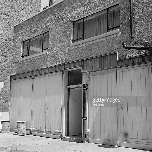 Osteopath Dr Stephen Ward's flat at Bryanston Mews London 6th June 1963 Ward first introduced Christine Keeler to British Secretary of State for War...