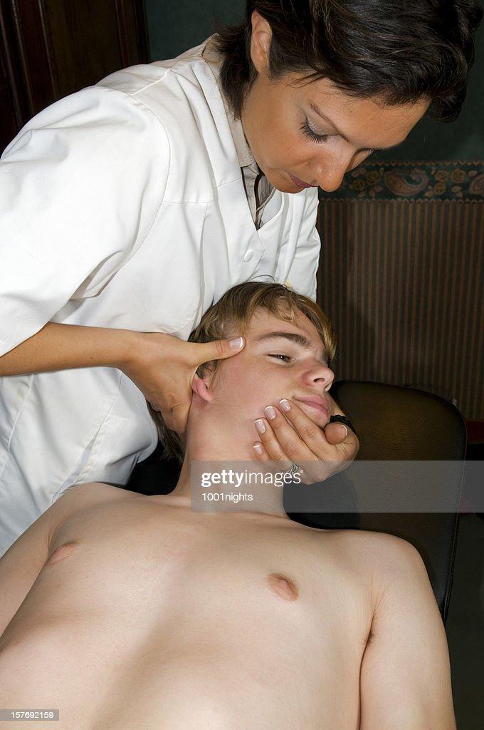 Osteopathy,Etiopathie : Stock Photo