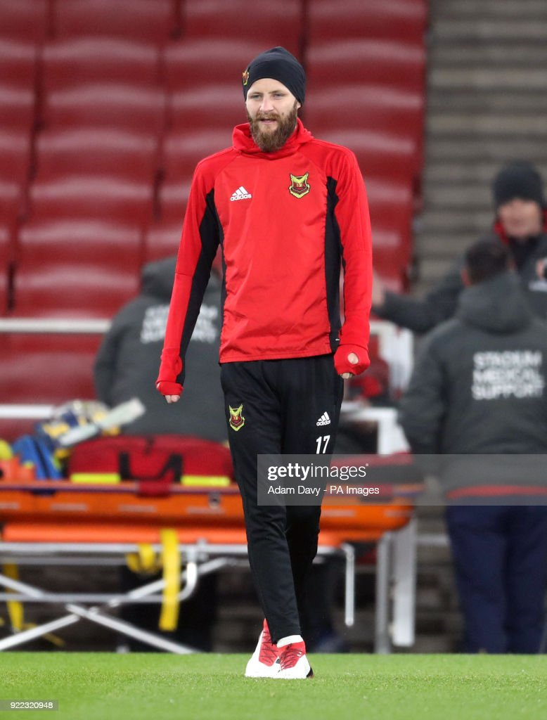 Ostersunds FK Training Session and Press Conference - Emirates Stadium