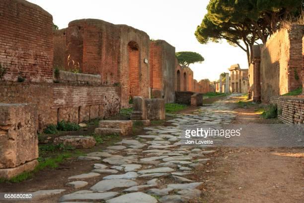 Ostia Antica Back street