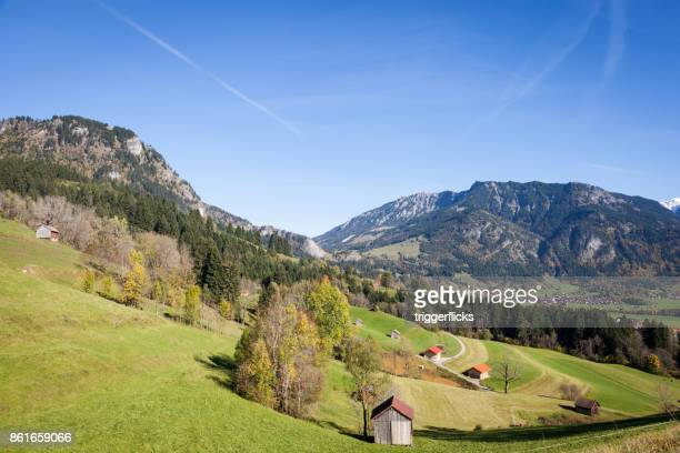 Ostrachtal in the Allgaeu Alps