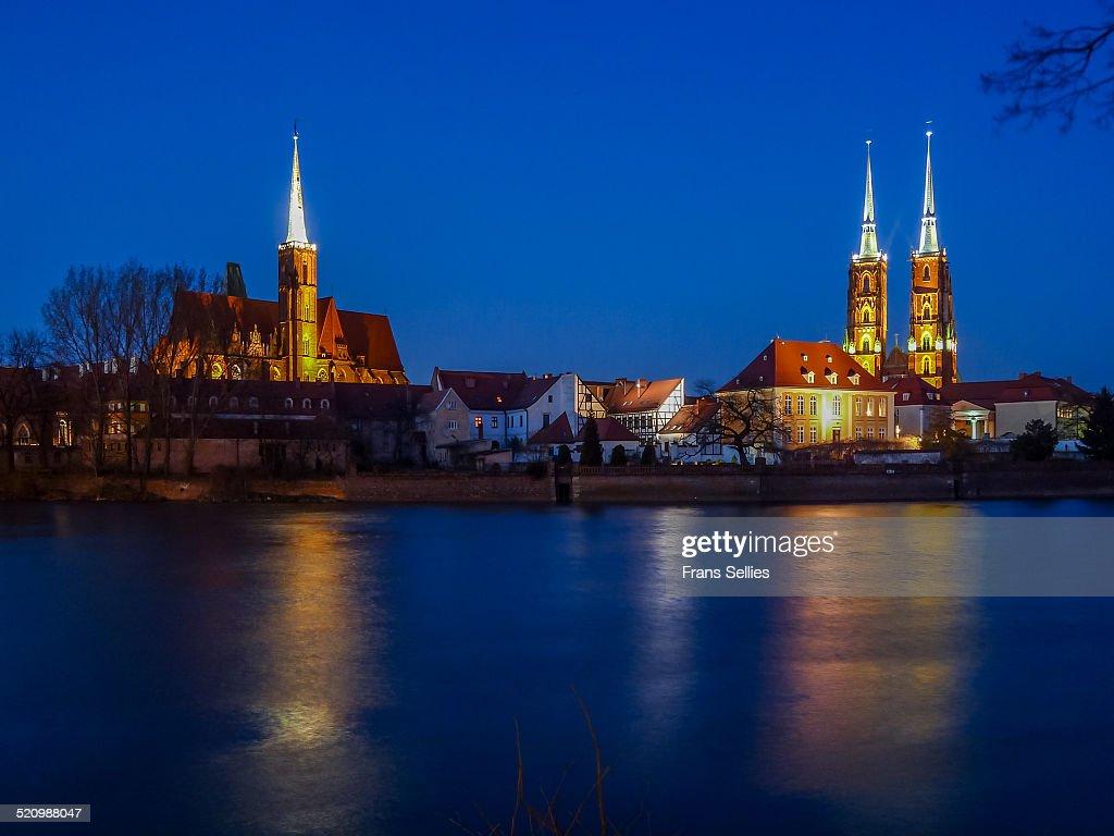 Ostrów Tumski (Cathedral island) : Stockfoto